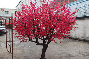 玻璃钢桃花树