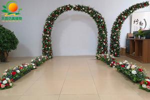 玫瑰花拱门