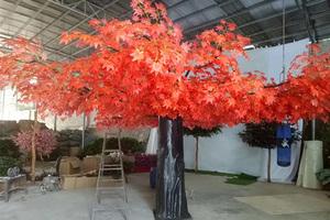 玻璃钢杆枫树