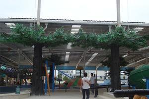 游乐场装饰仿真榕树包柱树