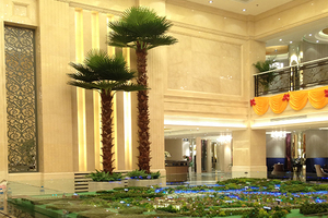 酒店装饰仿真棕榈树