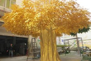 仿真榕树-金色榕树