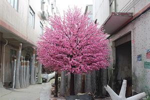 玻璃钢杆桃花树