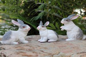 兔子造型玻璃钢制品